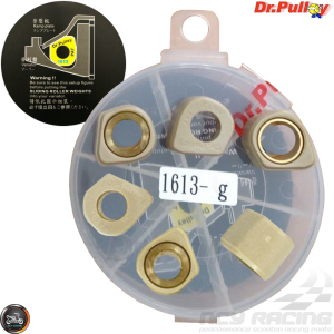 Dr. Pulley Variator Sliding Weight Set 16x13 (DIO, GET, QMB)