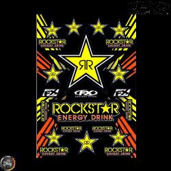 Factory Effex Rockstar Sticker Set (A3/B Size Sheet)