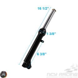 G- Front Fork Right Black (139QMB)