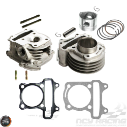 G- Cylinder 47mm 72cc 2V Cast Big Bore Kit Duo Combo (139QMB)