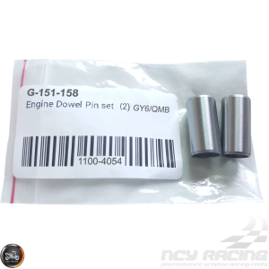 G- Dowel Pin 10x20mm Set (QMB, GY6, Universal)