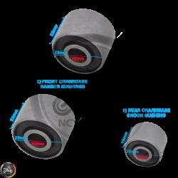 G- Crankcase Bushing 1-Rear (139QMB, GY6)