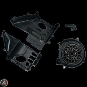 G- Fan Shroud Emissions Set (GY6)