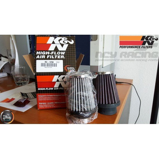 K&N Air Filter Cone 48mm 30° Angle (RC-1290)