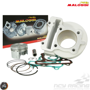 Malossi Cylinder 52mm 88cc Big Bore Kit w/Cast Piston (139QMB)
