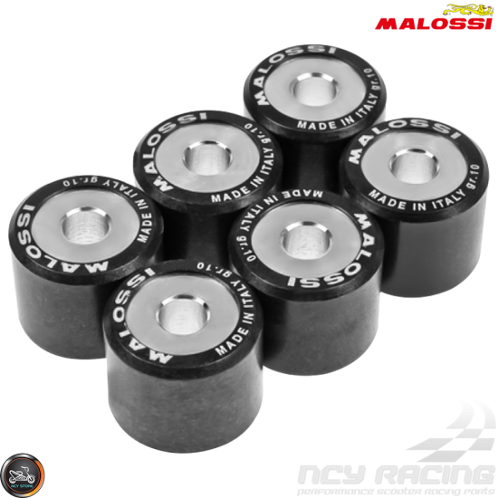Malossi Variator Roller Weight Set 18x14 (GY6)