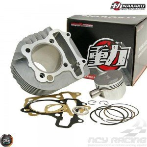 Naraku Cylinder 63mm 180cc Big Bore Kit w/Cast Piston Fit 54mm (GY6)