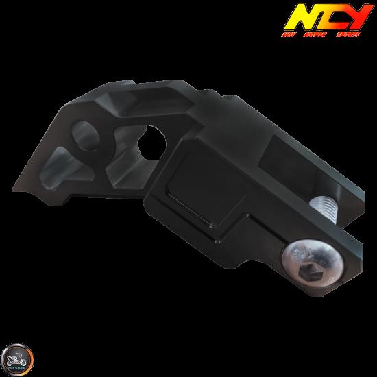NCY Frame Extension Billet Aluminum Black (Honda Ruckus)
