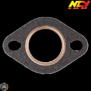 NCY Exhaust Gasket 27mm Steel & Fiber (QMB, GY6, Universal)