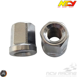 NCY Exhaust Nut M8x15mm Set (GY6)