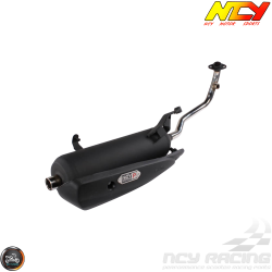 NCY Exhaust Performance Satin Black (Yamaha Zuma 125)