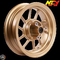 NCY Rim Front 10in Gold 10-Spokes (Honda Ruckus)