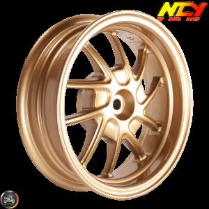NCY Rim Rear 10in Gold 10-Spokes (Honda Ruckus)