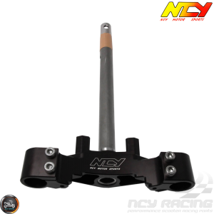 NCY Steering Stem Triple Tree Black (Honda Ruckus)