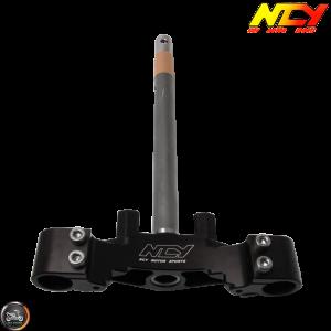 NCY Steering Stem Triple Tree Black (Honda Ruckus)