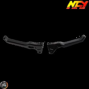 NCY Brake Lever Black Set Drum Type (Ruckus, Zoomer)