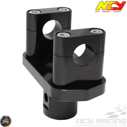 NCY Handlebar Tapered Stand 1-1/8in Black (Honda Ruckus)