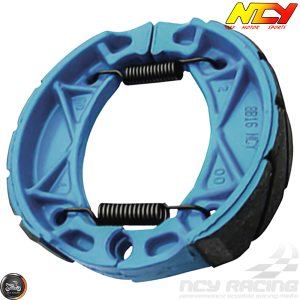 NCY Brake Shoes Blue (139QMB, Minarelli)