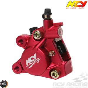 NCY Brake Caliper 2-Piston Forged Red (Buddy, JOG, Zuma 50)