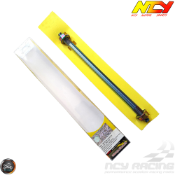 NCY Front Axle 12mm x 250mm Electroplated (GET, QMB, GY6)