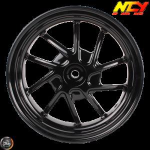 NCY Rim Rear 10in Black 10-Spokes (Honda Ruckus)