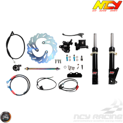 NCY Front End Black Kit (Ruckus, Zoomer)