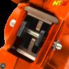 NCY Brake Caliper 2-Piston Forged Orange (Buddy, JOG, Zuma 50)