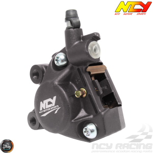 NCY Brake Caliper 2-Piston Forged Gray (Buddy, JOG, Zuma 50)