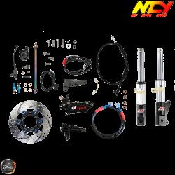 NCY Front End Slammed Silver Kit (Honda Ruckus)