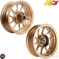 NCY Rim Set 10in Gold 10-Spokes (Honda Ruckus)