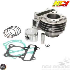 NCY Cylinder 47mm 72cc Big Bore Kit w/Cast Piston (139QMB)