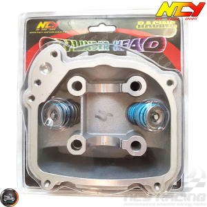 NCY Cylinder Head 61mm 171cc 2V 27.5/23.5 Fit 54mm (GY6)