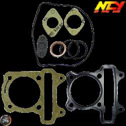 NCY Cylinder Gasket 57.4mm Set (GY6)