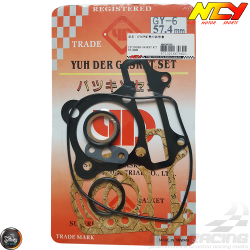 NCY Cylinder Gasket 57.4mm Set (GY6)