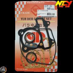 NCY Cylinder Gasket 60mm Set (GY6)