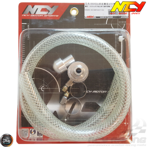 NCY Oil Decompression Tube 17mm Kit (QMB, GY6, Universal)
