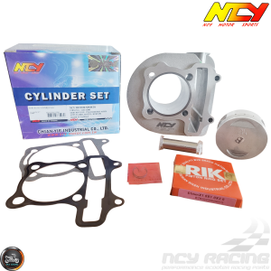 NCY Cylinder 61mm 171cc Big Bore Kit w/Cast Piston Fit 54mm (GY6)