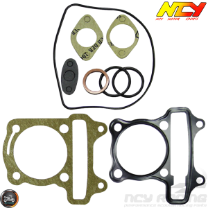 NCY Cylinder Gasket 61mm Set (GY6)