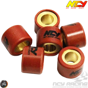 NCY Variator Roller Weight Set 18x14 (GY6)