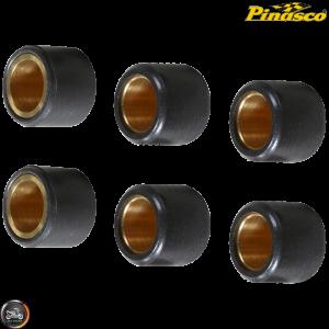 Pinasco Variator Roller Weight Black Set 15x12 5gm (Aprilia, JOG, Zuma 50)