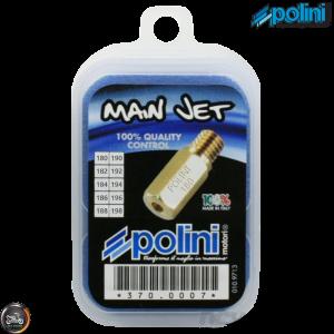 Polini PWK Main Jet 180-198 10-Pcs Kit