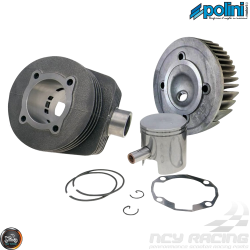 Polini Cylinder 63mm 177cc Big Bore Kit w/Alumin Piston (Genuine Stella, Vespa 2T)