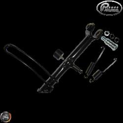 Prima Kickstand Assembly Black (Vespa GT)