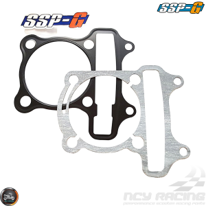 SSP-G Cylinder Gaskets 63mm Set Fit 57mm (GY6)
