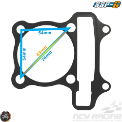 SSP-G Cylinder Gaskets 63mm Set Fit 54mm (GY6)