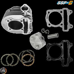 SSP-G Cylinder 63mm 180cc Big Bore Kit w/Cast Piston Fit 54mm (GY6)