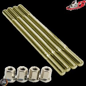 Taida Cylinder Stud 140mm w/Nut Set (Honda Dio)