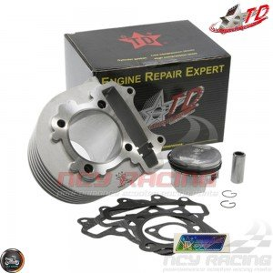 Taida Cylinder 58.5mm 155cc Big Bore Kit w/HC Piston Fit 54mm (GY6)