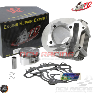 Taida Cylinder 63mm 180cc Big Bore Kit w/Cast Piston Fit 54mm (GY6)
