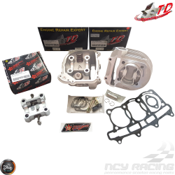 Taida Cylinder 61mm 171cc 2V Forged Big Bore Kit Trio Combo Fit 54mm (GY6)